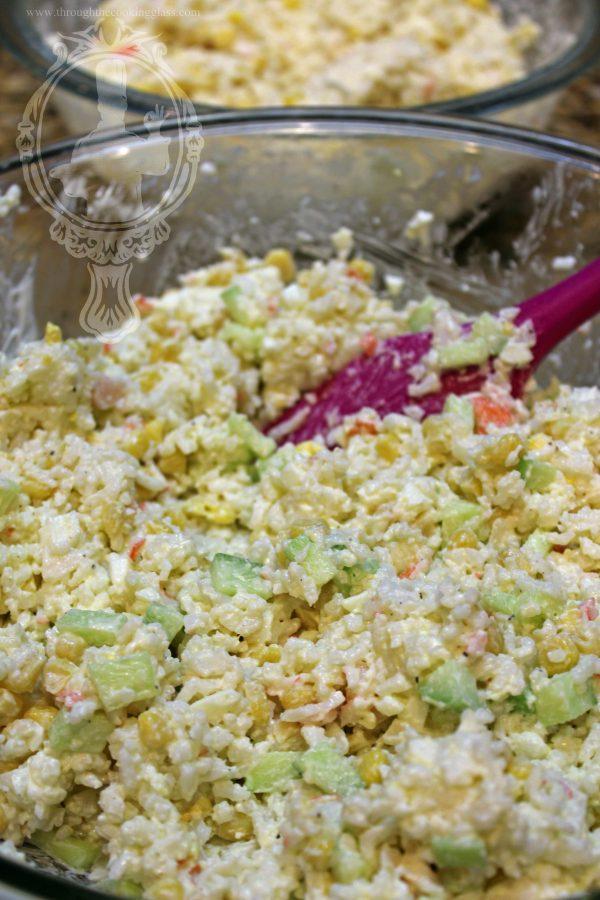Rice and Crab Salad